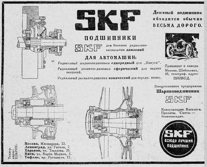 SKF в СССР